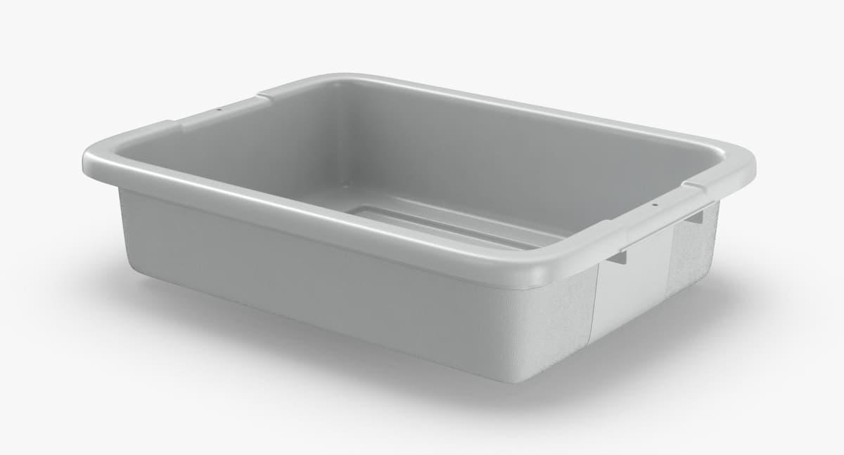 3D airport-plastic-bin