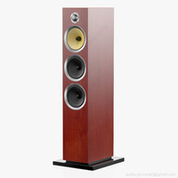 3D floorstanding bowers wilkins cm model