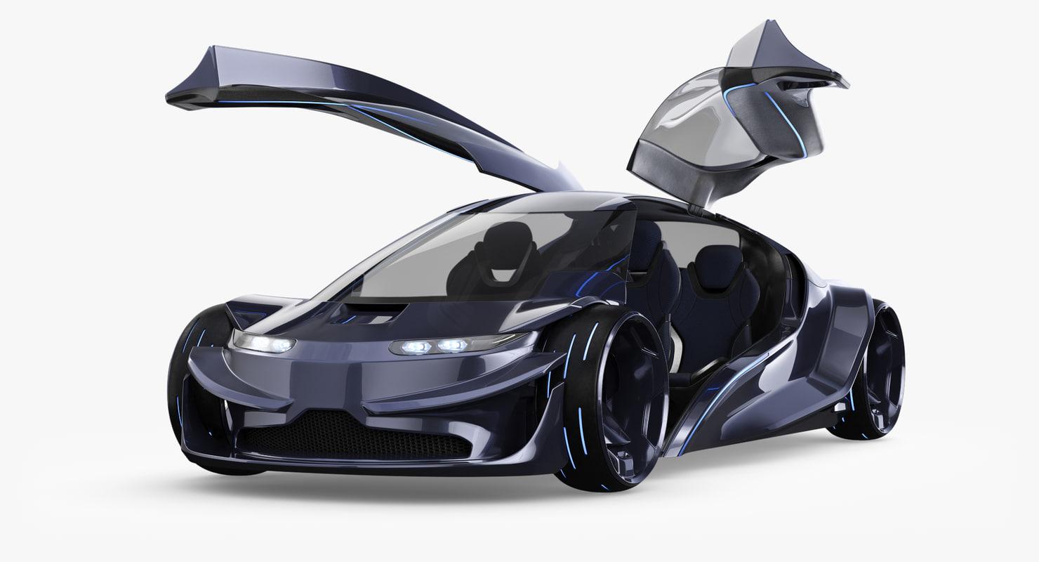 future car 3D model