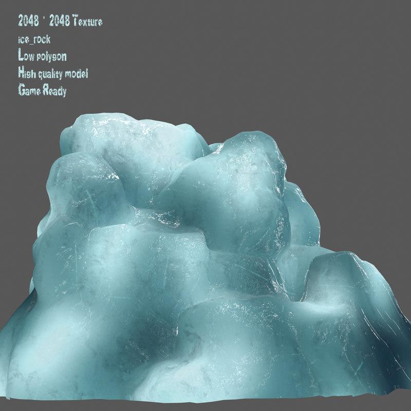 3D snow frozen