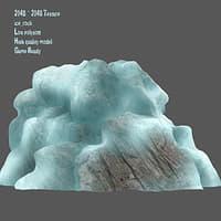 snow frozen 3D model