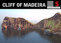 madeira giant cliff 16k 3D