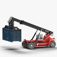 3D kalmar reach stacker drf450 model