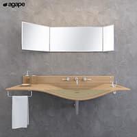 washbasin agape gabbiano 3D model