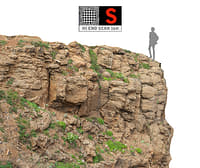 madeira giant cliff 16k 3D model
