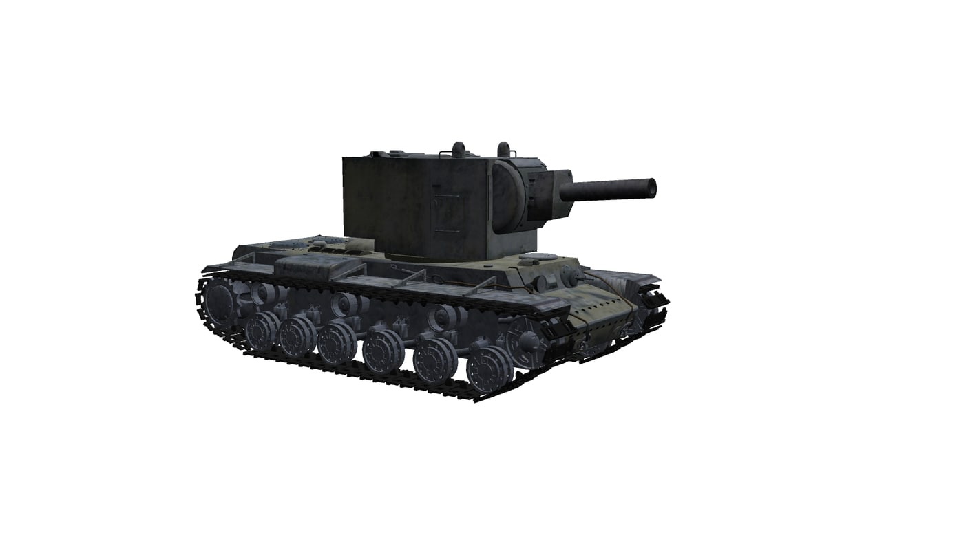 soviet tank kliment voroshilov 3D model