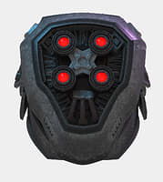 3D character neck head