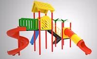 3D slides kinder gardens model