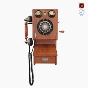 vintage wall phone model