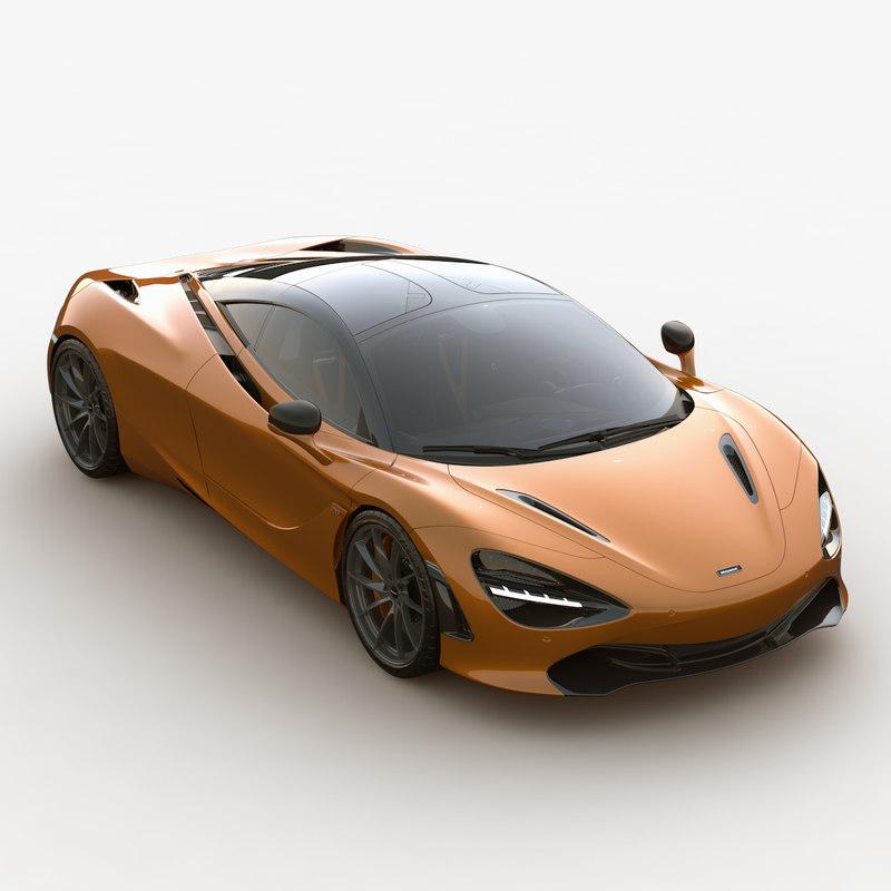 ultra 2017 mclaren 720s 3D model