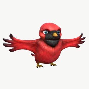cardinal bird model