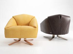 ds-373 armchairs 3D model