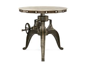 crank 22 end table 3D