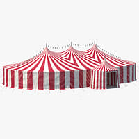 3D circus tent & Circus Tent 3D Models for Download | TurboSquid