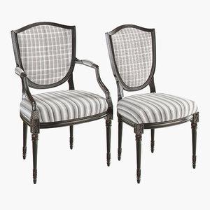 chair cnc 3D model
