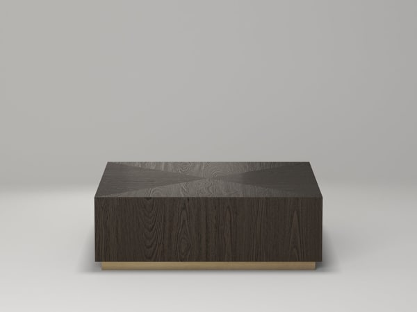 3D machinto square coffee table model