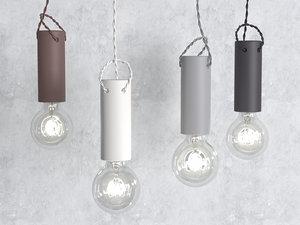 tied pendant light 3D model