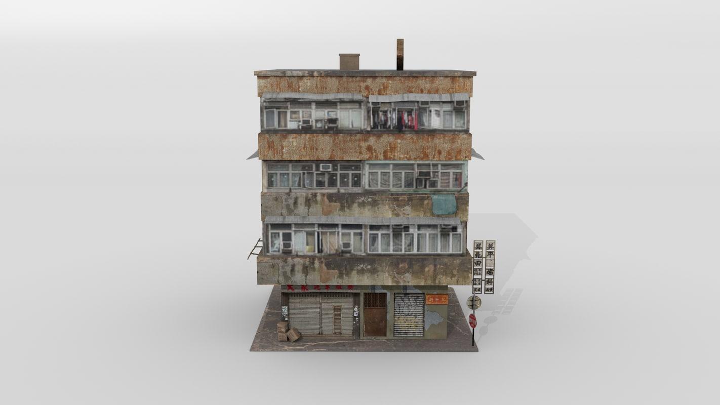 3D building hong kong
