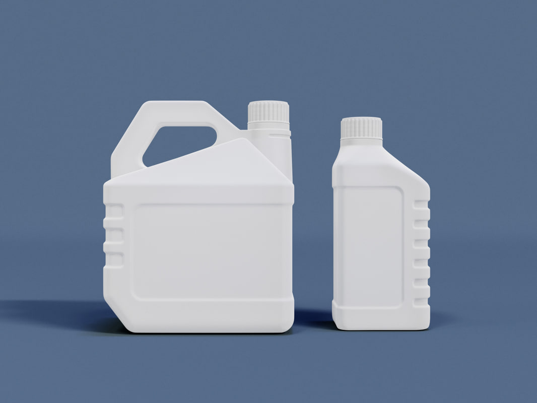 3D plastic canisters