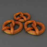 Pretzel food snack