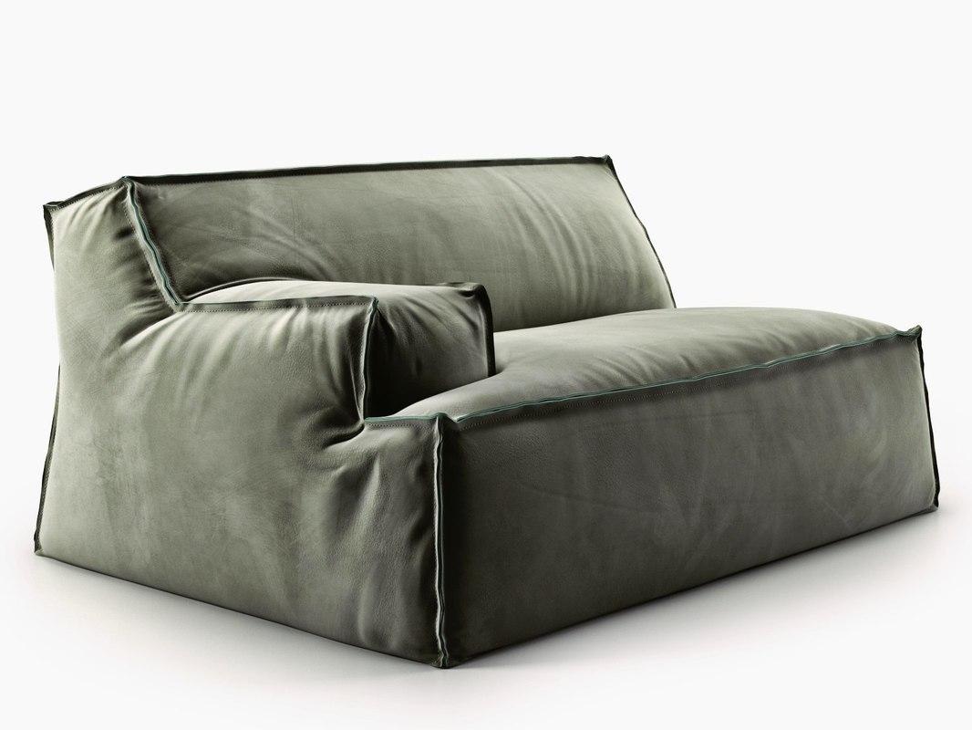 damasco module armrest 3D model