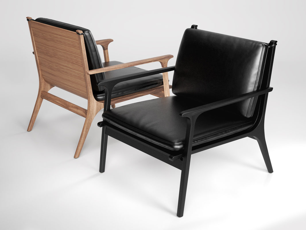 3d Ren Lounge Chair Large