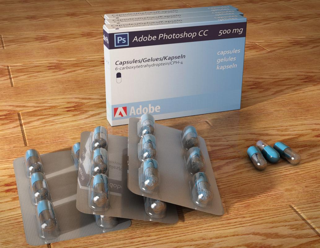 3D drugs model