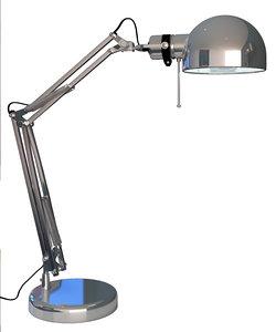 ikea lamp forsa model
