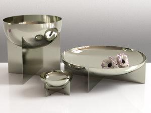 3D graal bowl