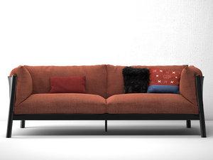 3D yak sofa