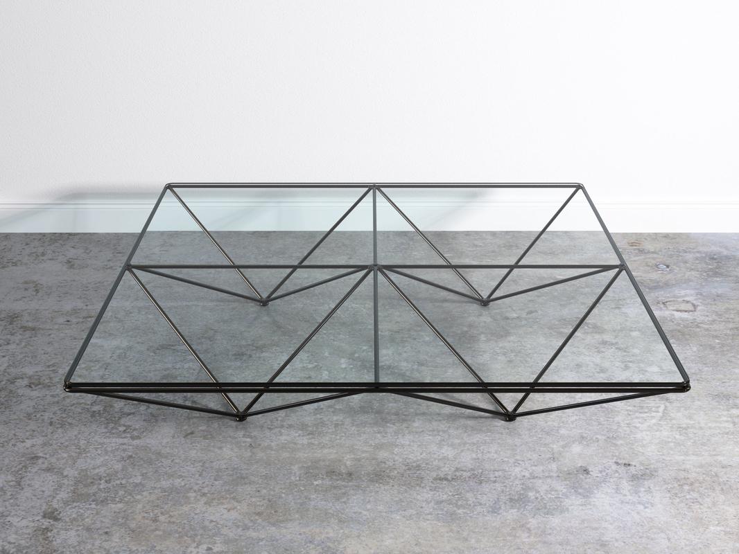 alanda coffee table b italia 3D model