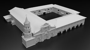 3D barasoain church model