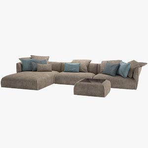 3D sofa gitano jori