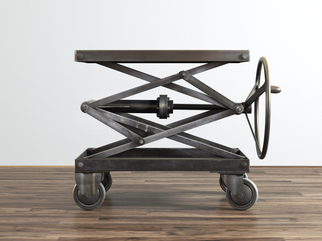 industrial scissor lift table model