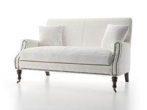 3D tessa sofa