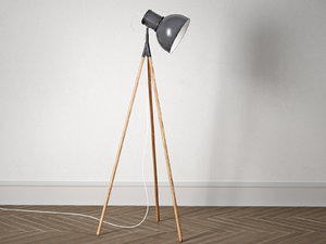 industry floor lamp model