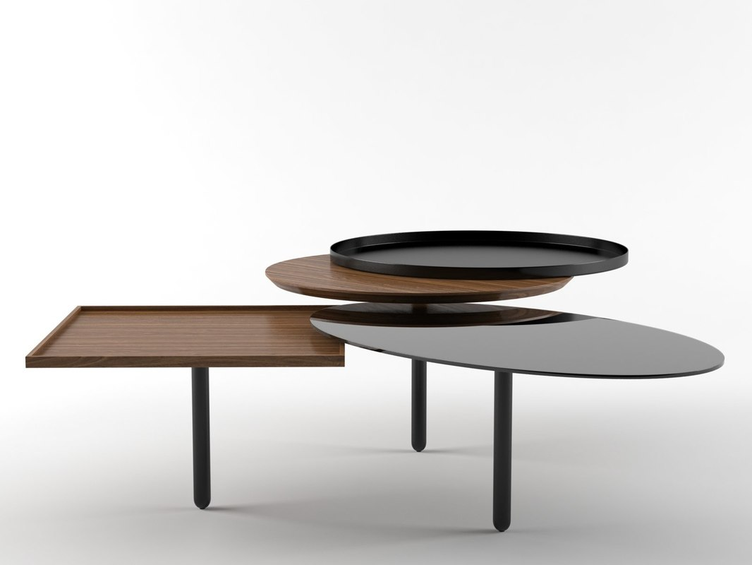 3 table 3D