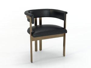 3D elliott chair model