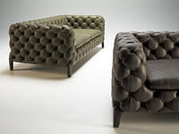 3D windsor sofa