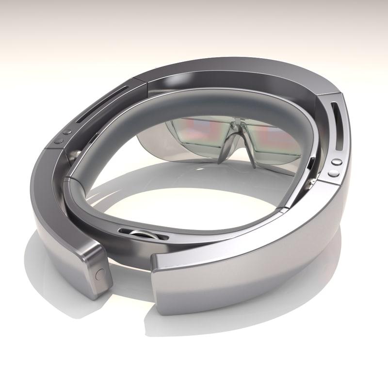 hololens microsoft 3D model