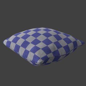 sculpted pillow 3D model