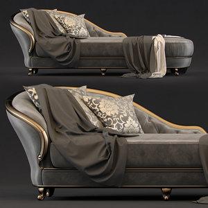 3D couch goldconfort model