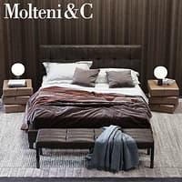 molteni c anton bed 3D model