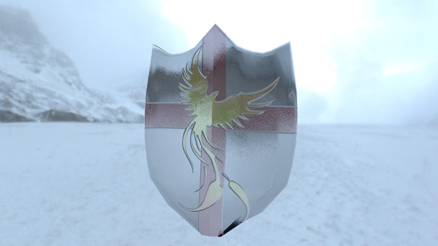shield phoenix 3D model