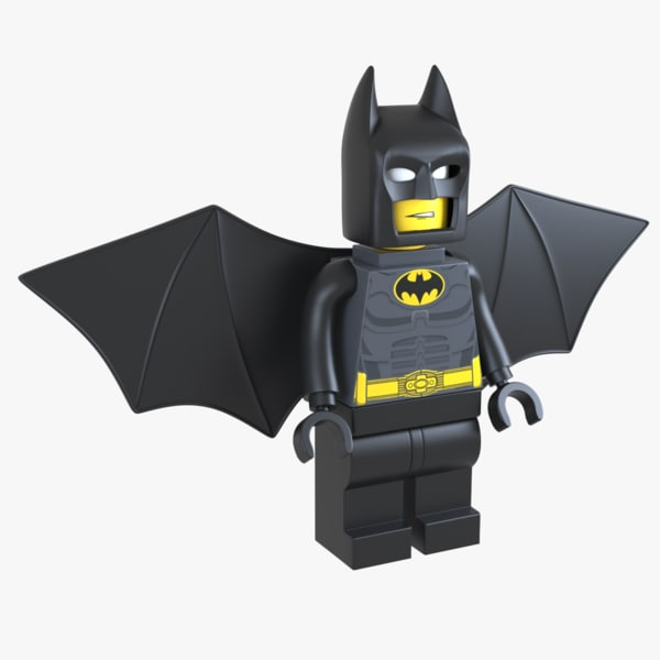 lego batman man model