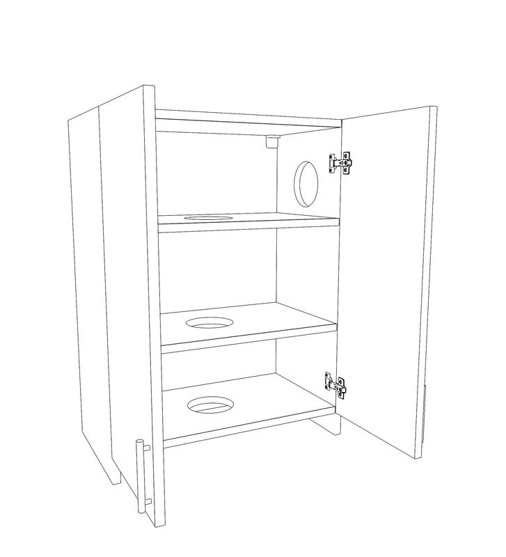 extractor cupboard 3D model