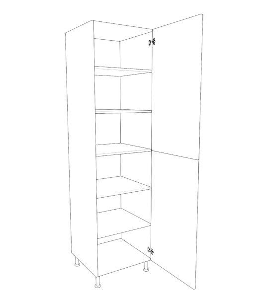 3D closet pantry model