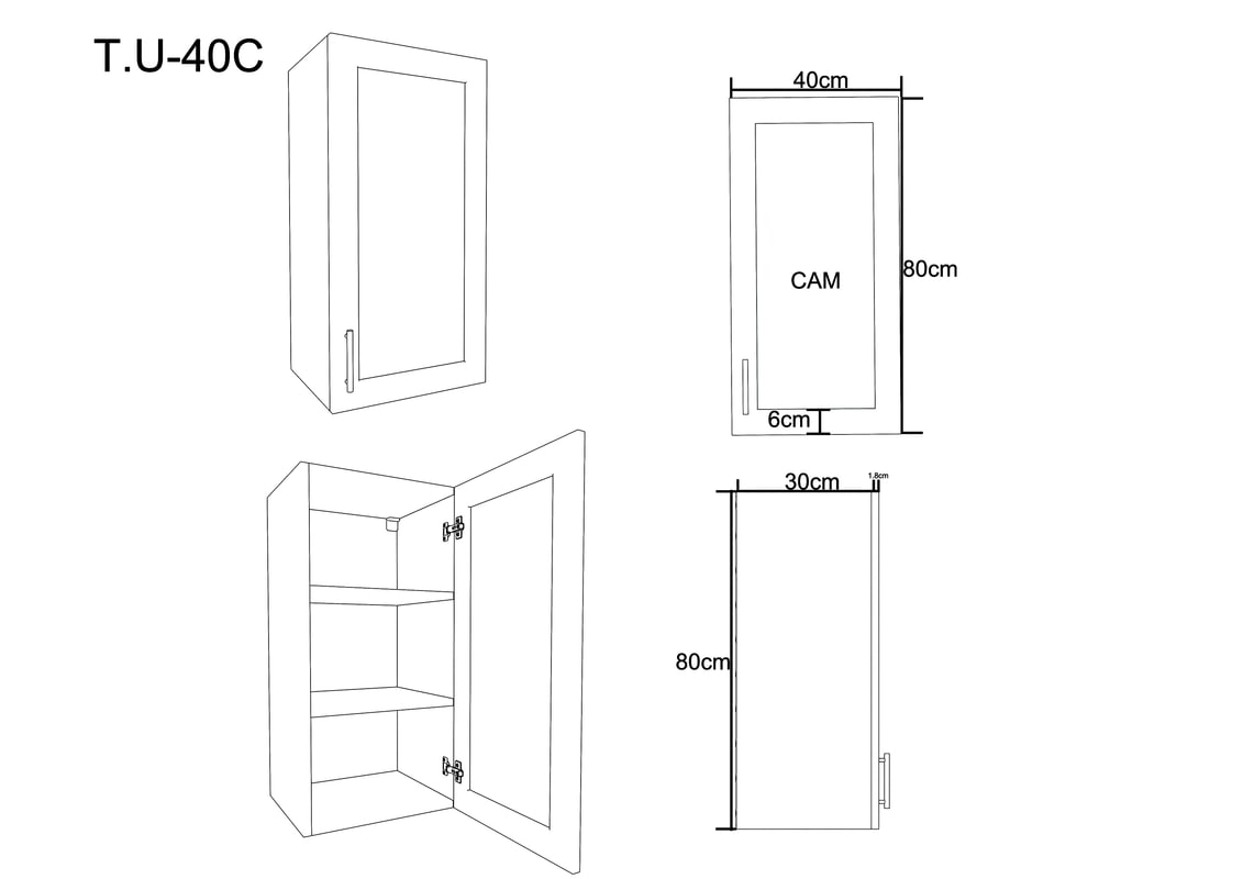 kitchen cabinet 3D