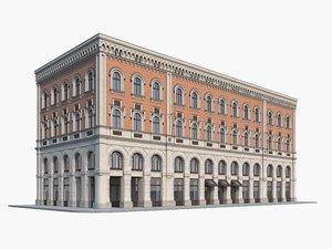 3D historic palace