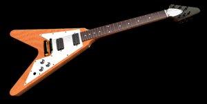 guitar flying v model
